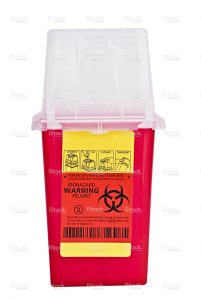 sharps container disposal
